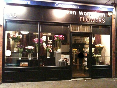 Outside van Wonderen Flowers